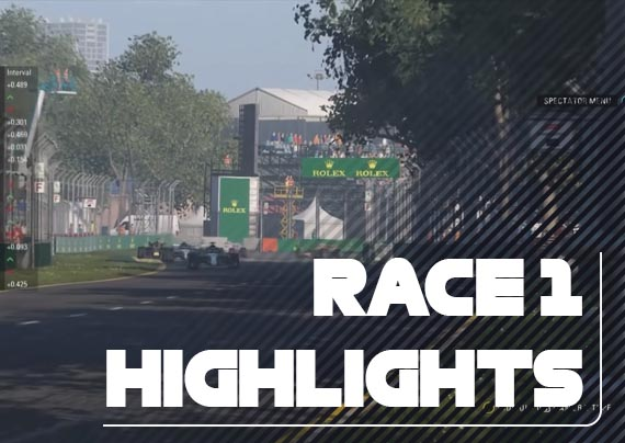 Race One Highlights