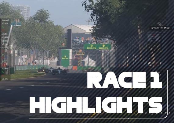 Race One Highlights