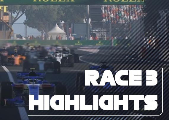 Race Three Highlights