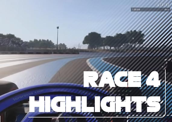 Race Four Highlights